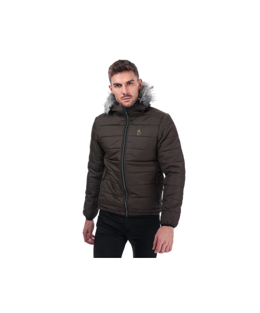 Image for Men's Luke 1977 South Far Bubble Jacket in Khaki