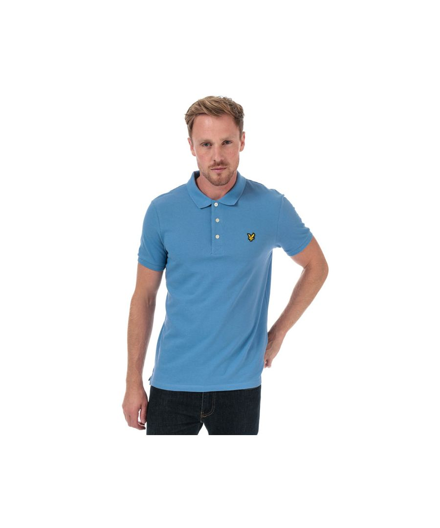 Image for Men's Lyle And Scott Plain Polo Shirt in Blue