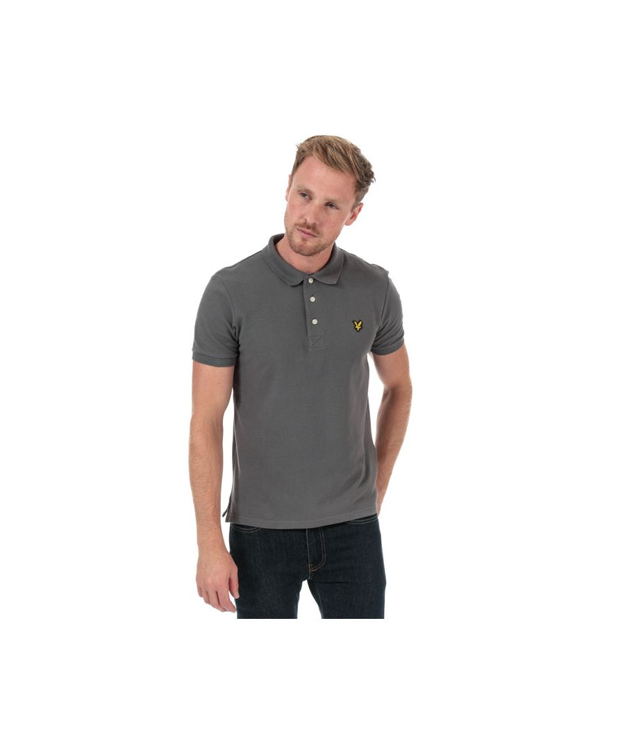 Image for Men's Lyle And Scott Plain Polo Shirt in Grey