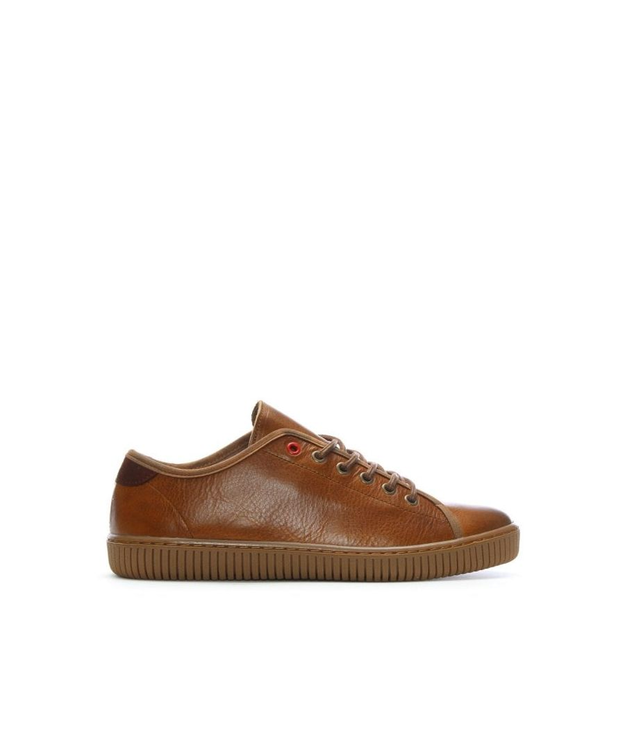 Image for Daniel Spence Leather Lace Up Trainers