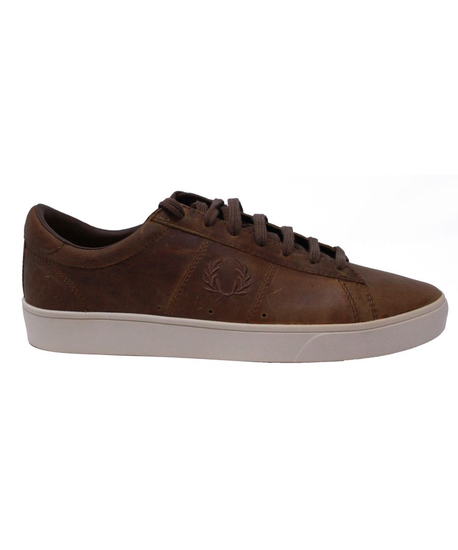 Image for Fred Perry B8220 C56 Spencer Leather Trainers