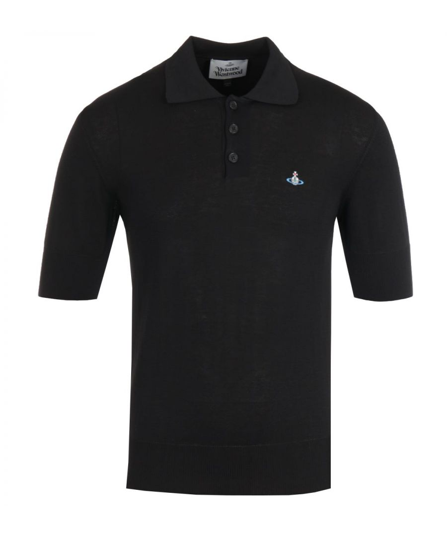 Image for Vivienne Westwood Cotton Black Polo Shirt