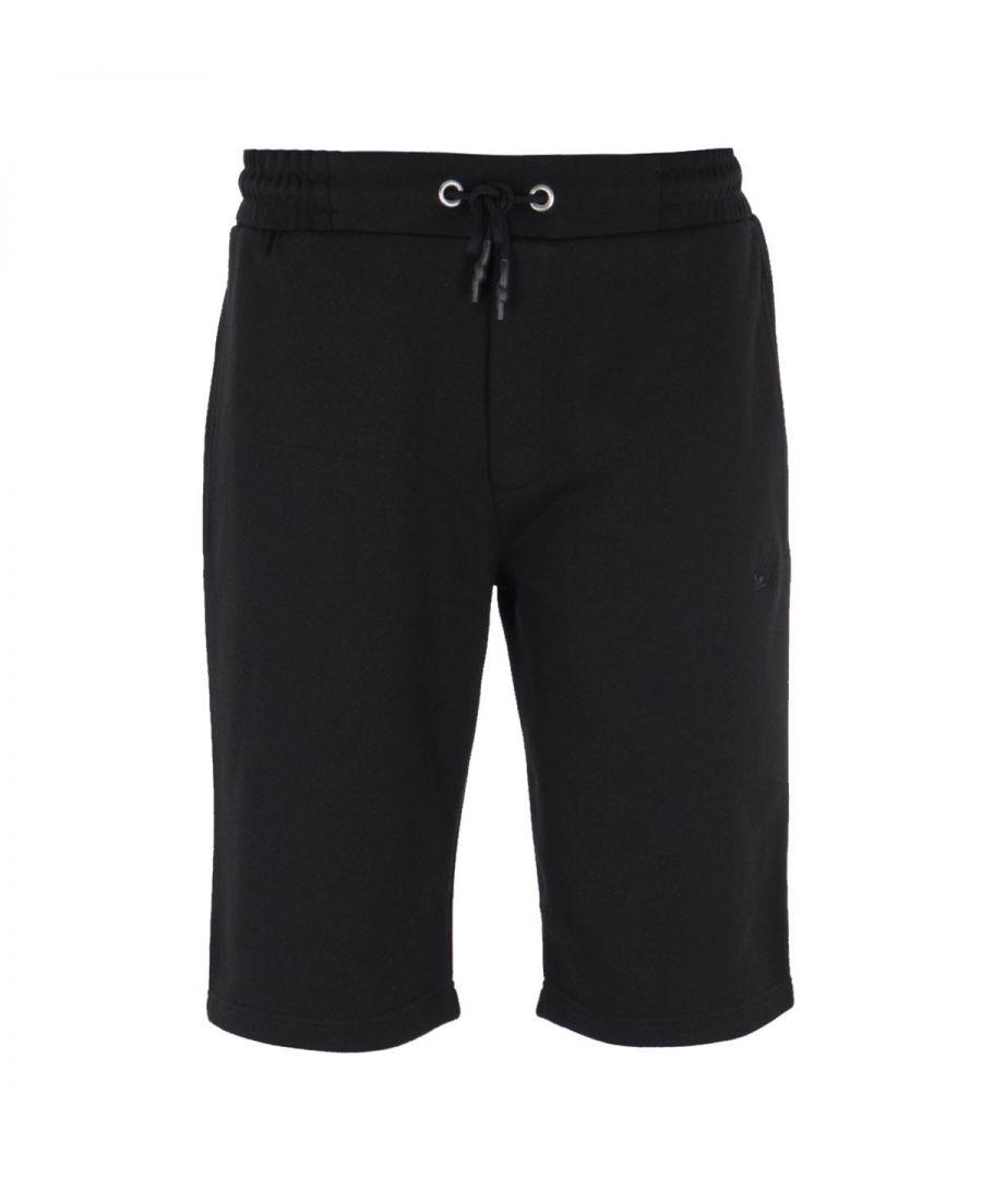 Image for MCQ Alexander McQueen Swallow Logo Black Sweat Shorts