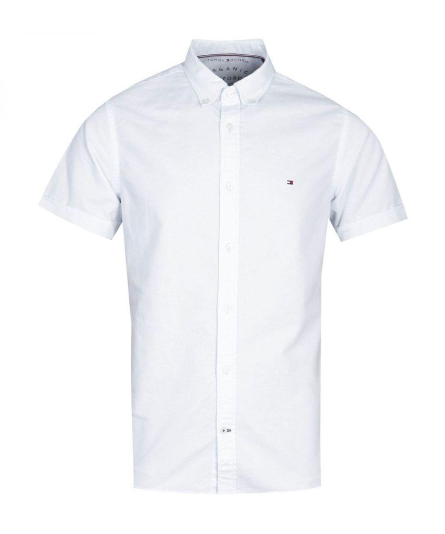 Image for Tommy Hilfiger Slim Fit Sky Blue Oxford Shirt