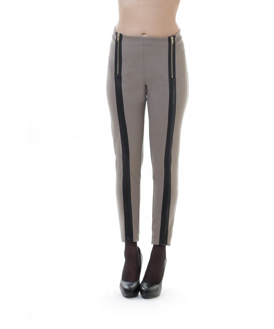 Image for Zip Detail Panelled Pants