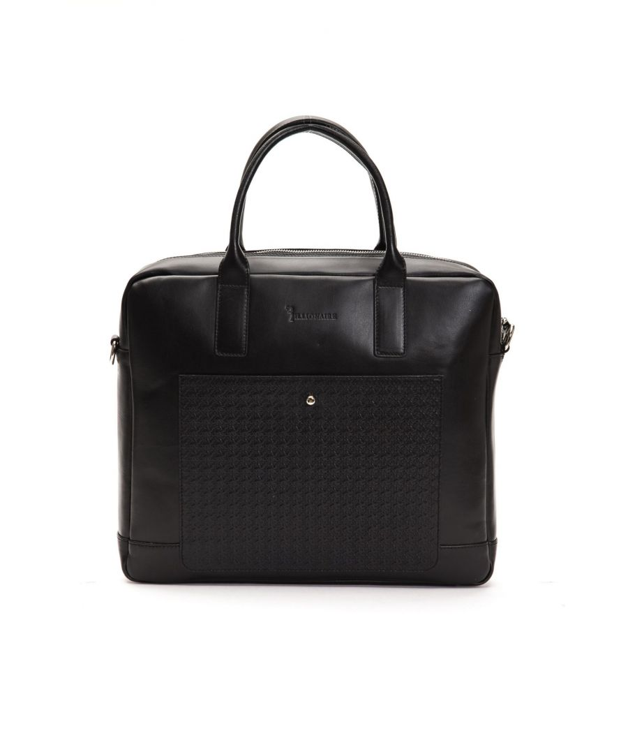 Image for Billionaire Italian Couture Nero Black Briefcase