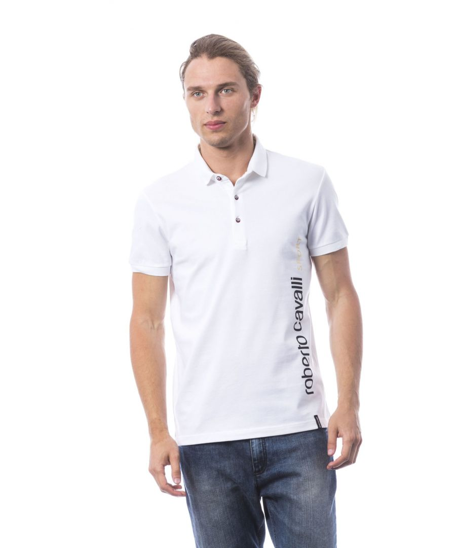 Image for Roberto Cavalli Sport Optic White T-shirt