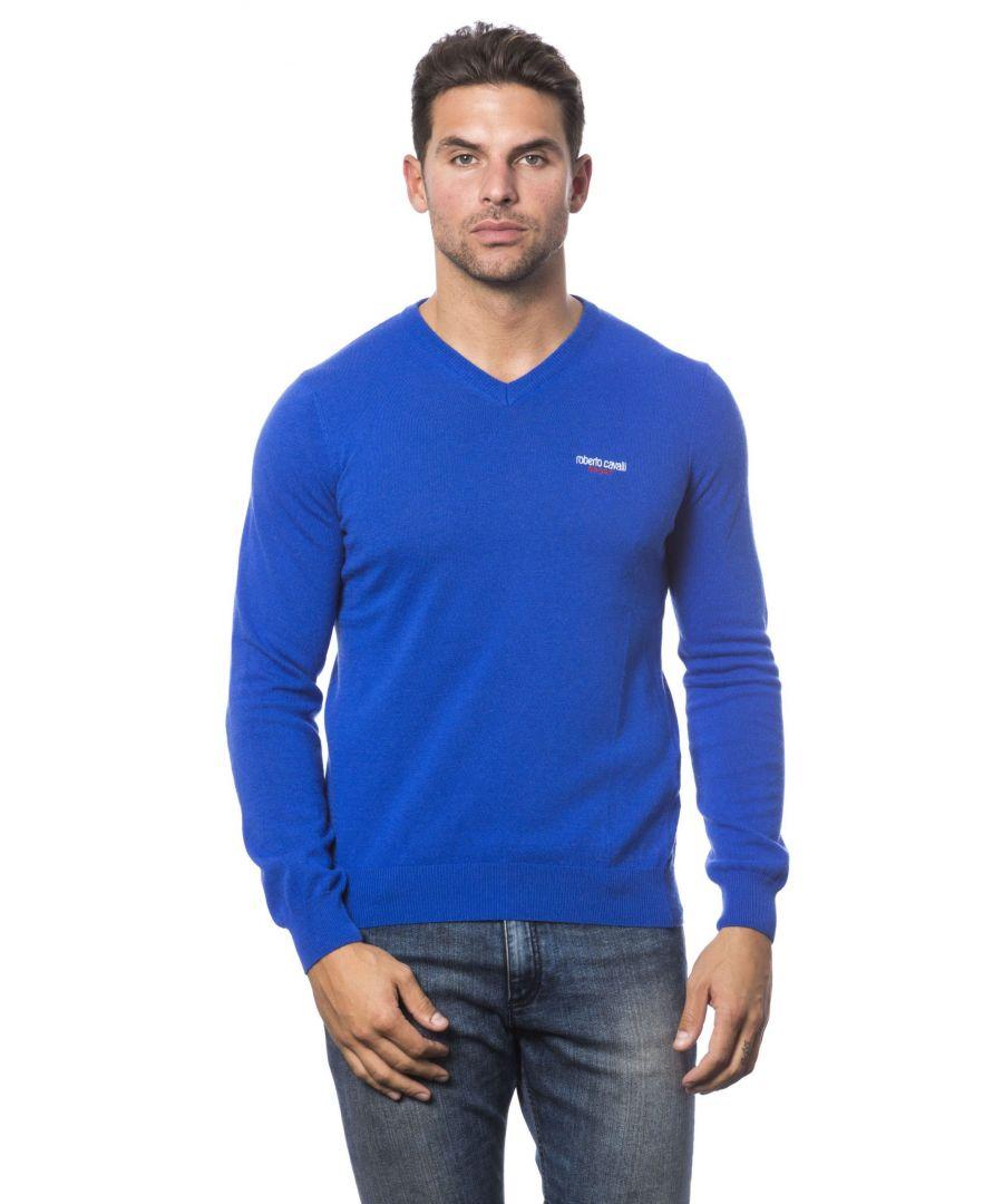 Image for Roberto Cavalli Sport Bluette Sweater