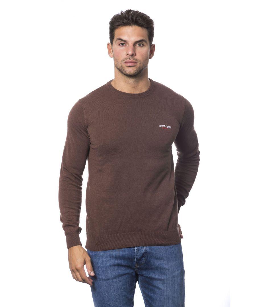 Image for Roberto Cavalli Sport Marrone Sweater
