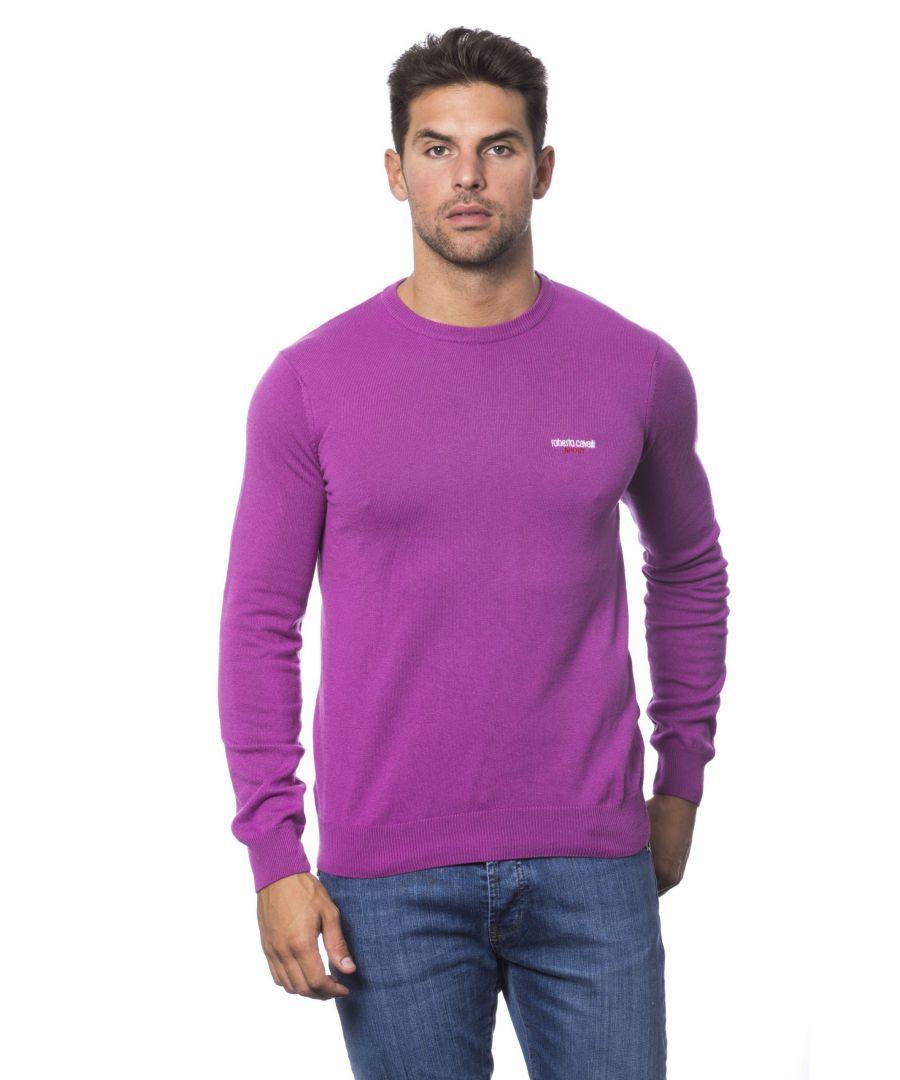 Image for Roberto Cavalli Sport Fuxia Sweater