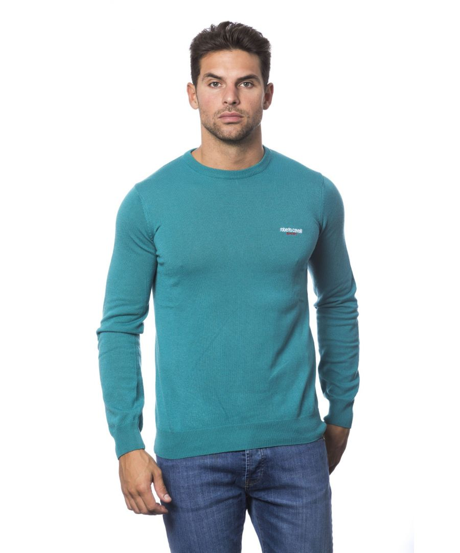 Image for Roberto Cavalli Sport Acquamarina Sweater