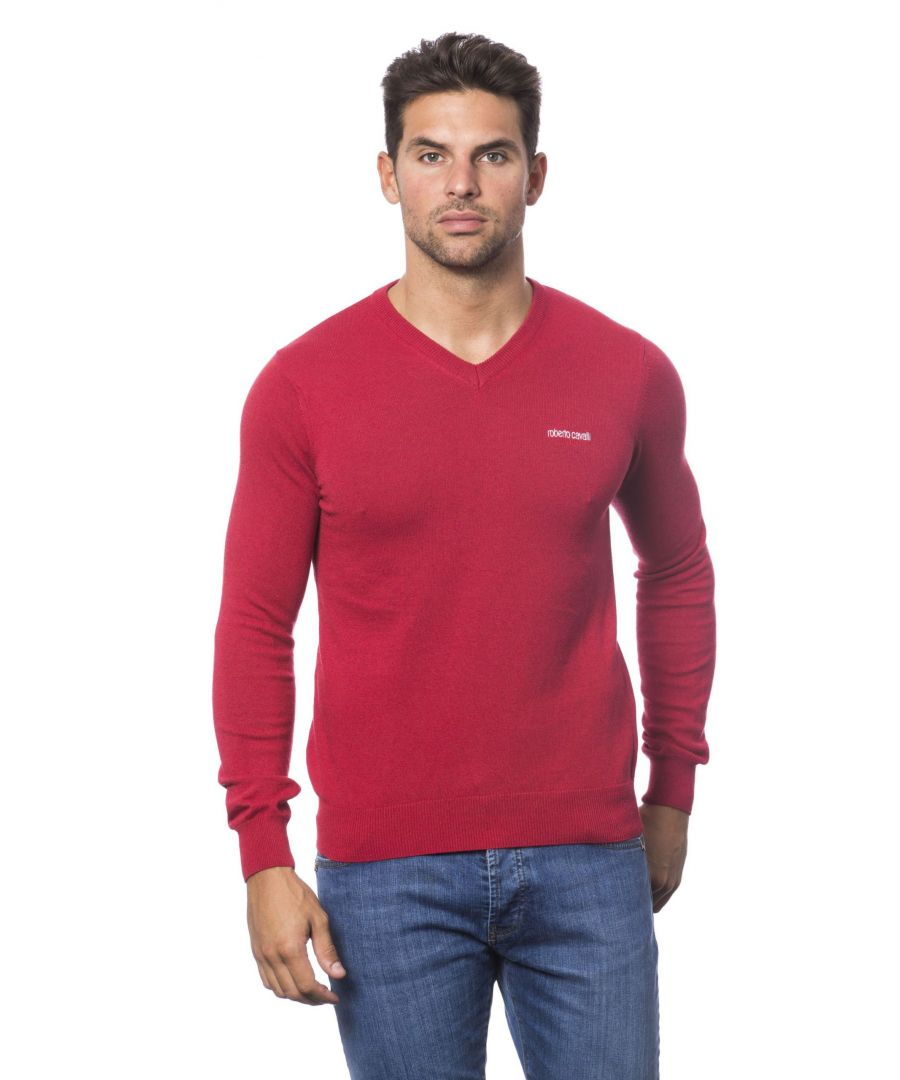 Image for Roberto Cavalli Sport Rosso Sweater