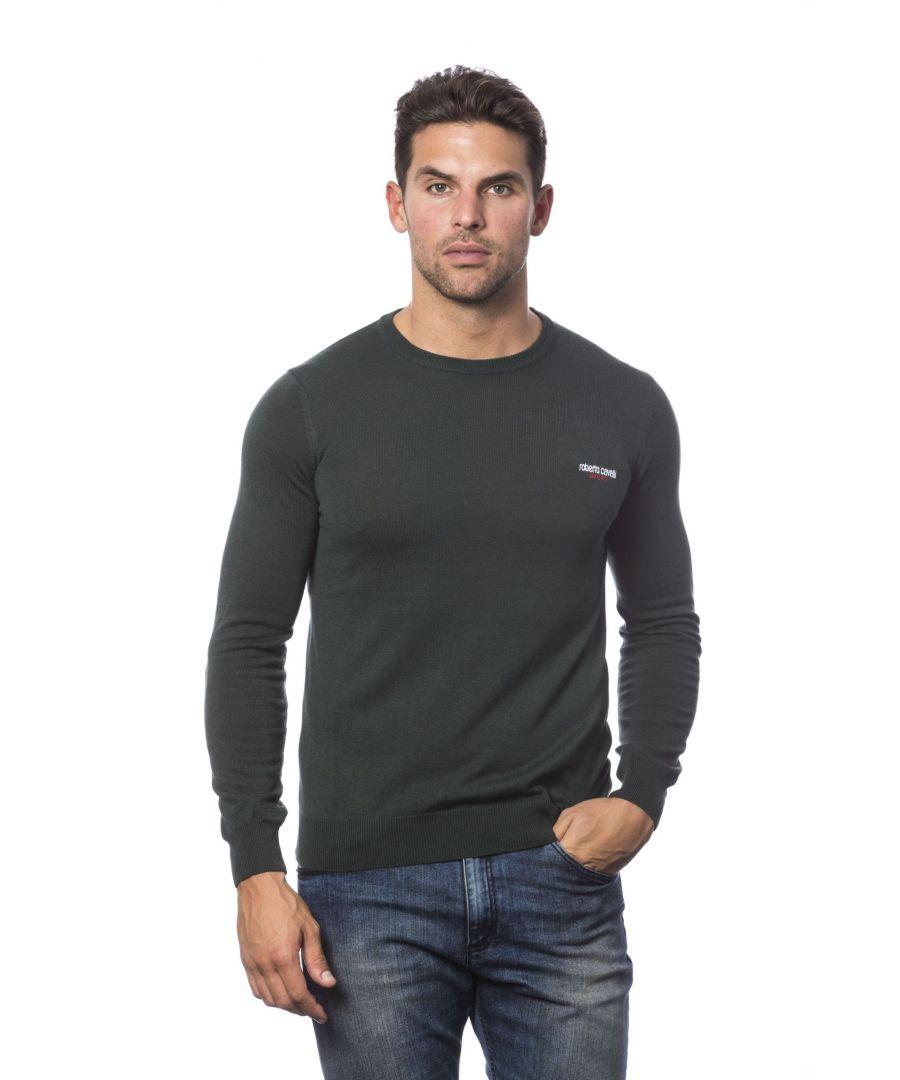 Image for Roberto Cavalli Sport Verdemilitare Sweater