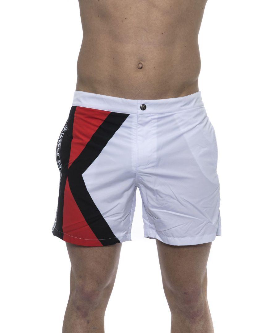 Image for Karl Lagerfeld Bianco White Swimwear