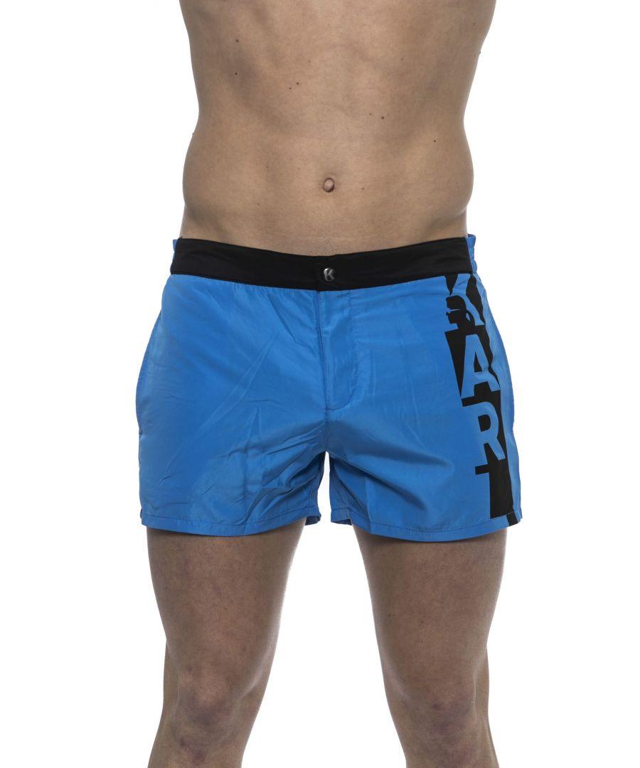 Image for Karl Lagerfeld Blu Navy Swimwear