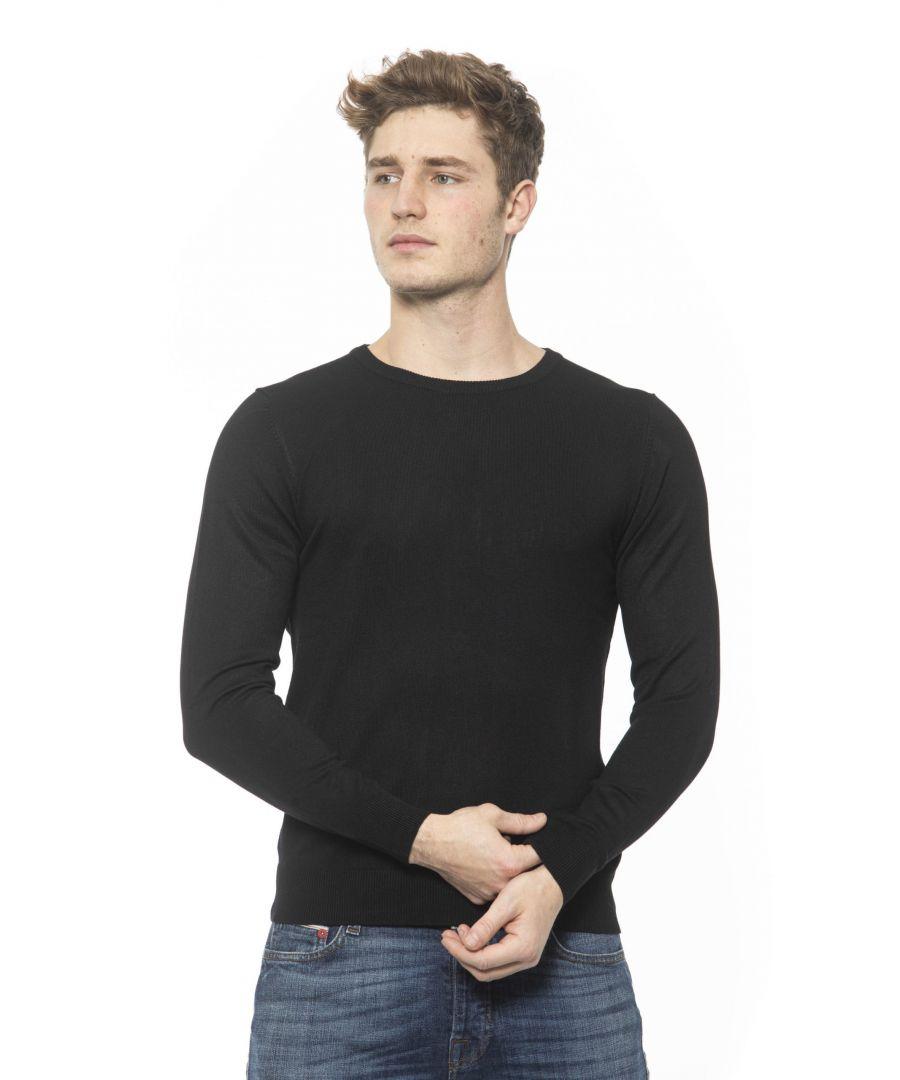 Image for 19V69 Italia Nero Black Sweater