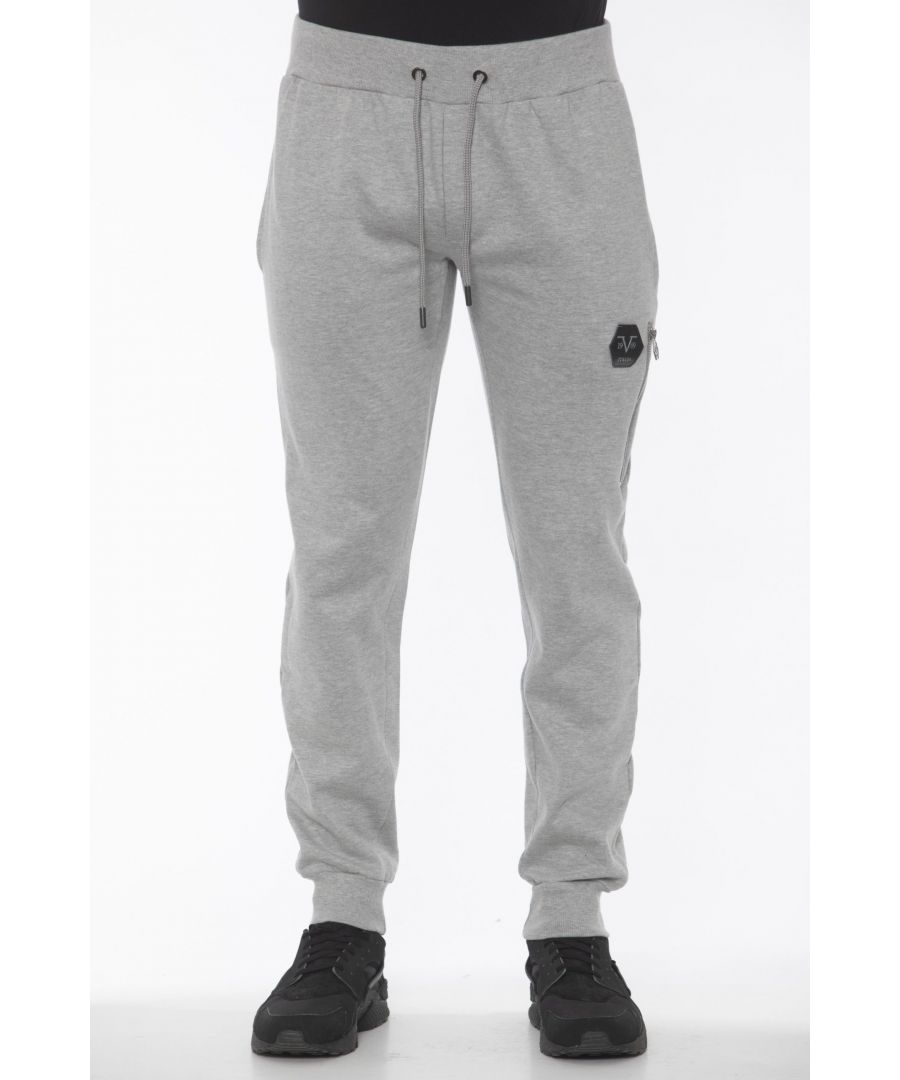 Image for 19V69 Italia Grich Lt Grey Jeans & Pant