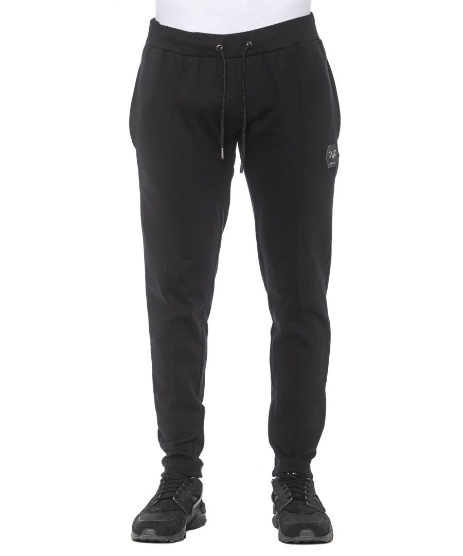 Image for 19V69 Italia Nero Black Jeans & Pant