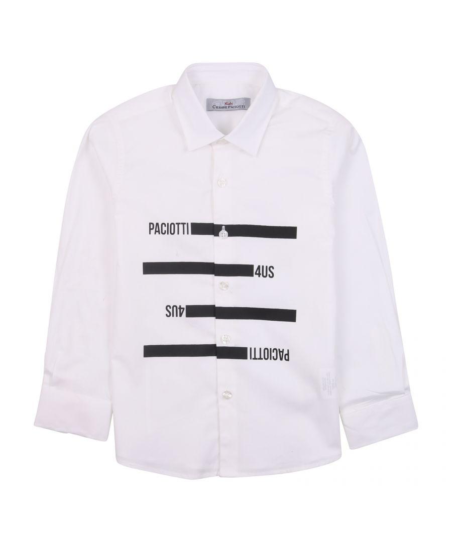Image for Cesare Paciotti Boys Shirt