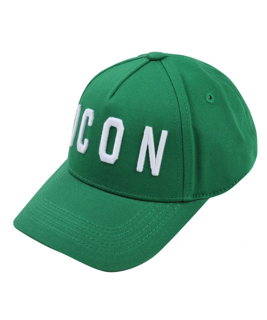 Image for Dsquared2 Green Icon Hat