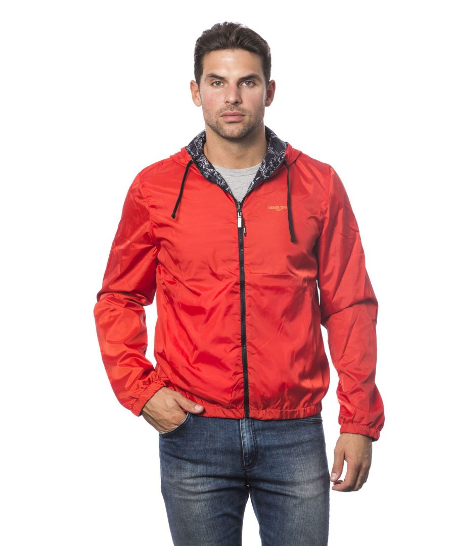 Image for Roberto Cavalli Sport Hot Red Jacket