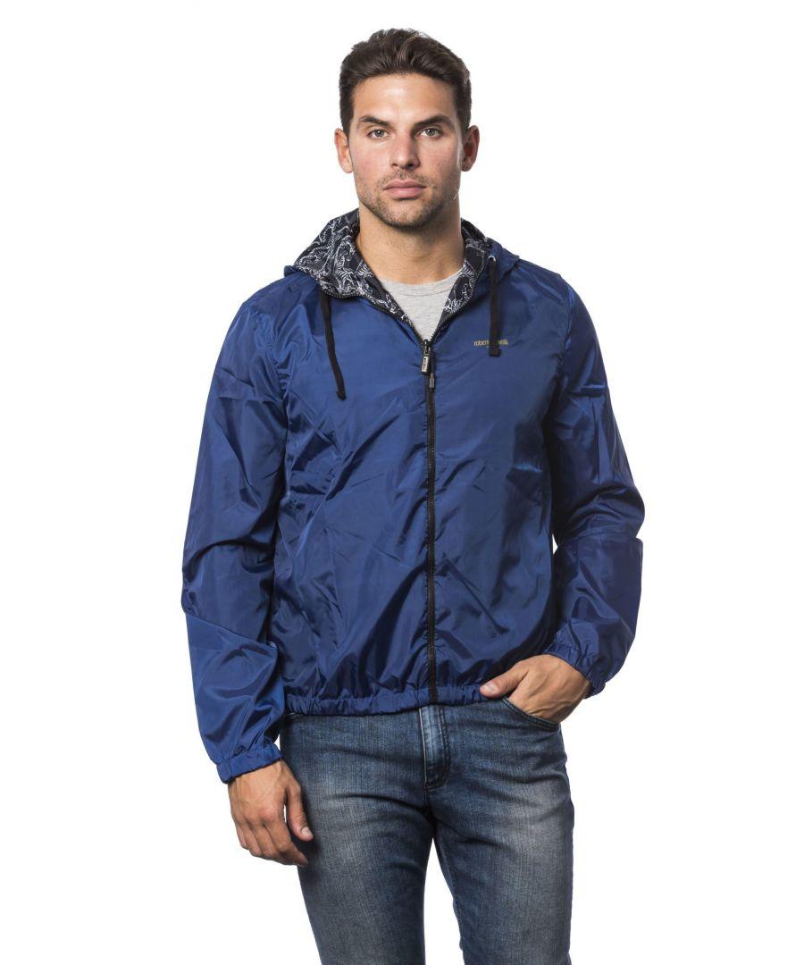 Image for Roberto Cavalli Sport Dk Navy Jacket
