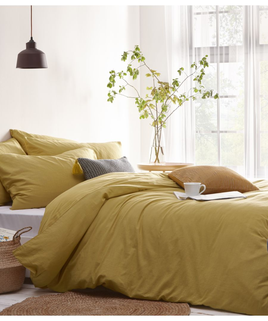 Image for Stonehouse Duvet Set Ochre