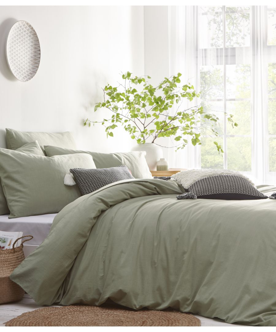 Image for Stonehouse Duvet Set Sage