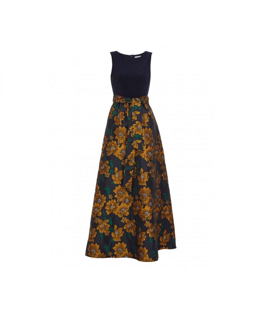 Image for Saira Jacquard Maxi Dress