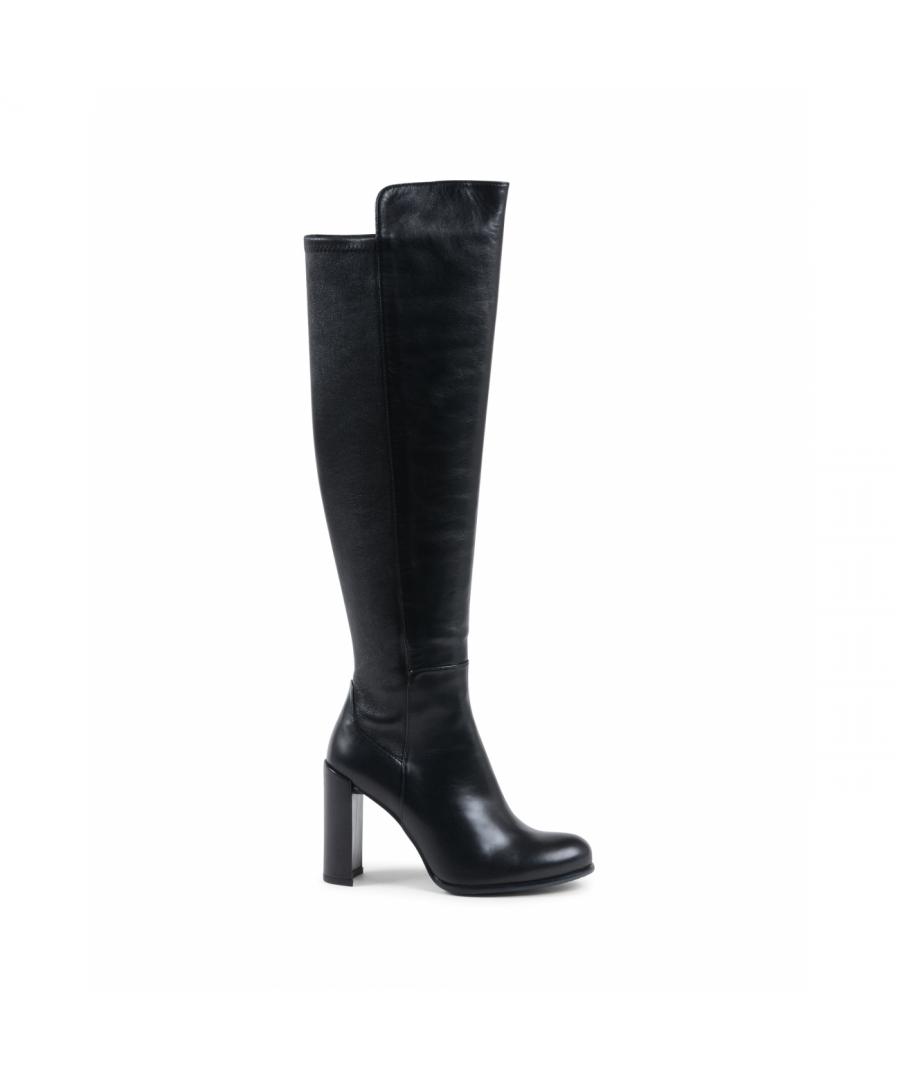 Image for Stuart Weitzman Womens High Boot Black ALLJILL
