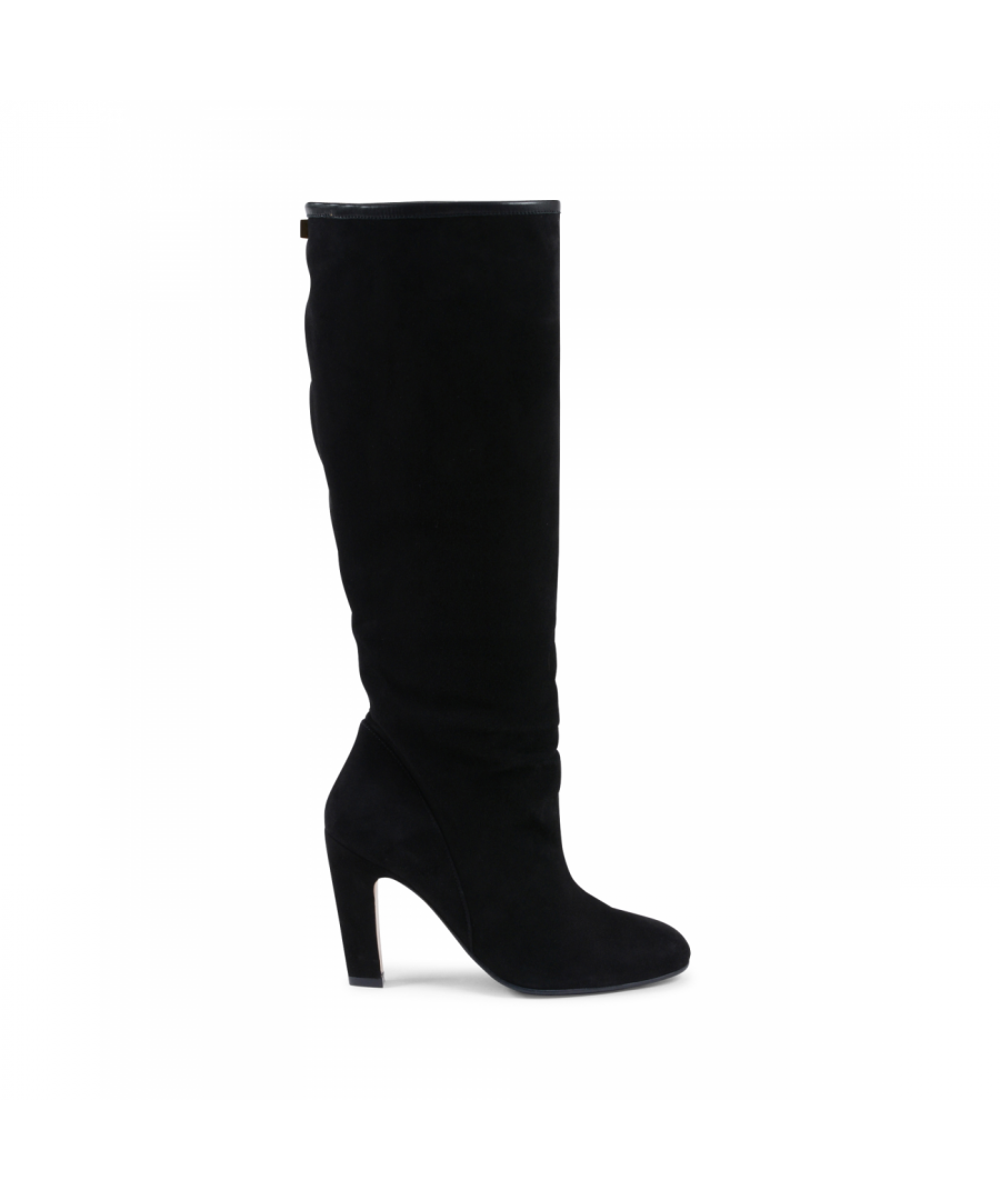 Image for Stuart Weitzman Womens High Boot Black CHARLIE
