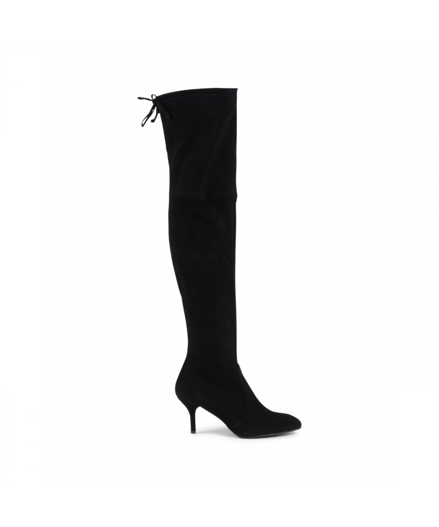 Image for Stuart Weitzman Womens High Boot Black TIEMODEL