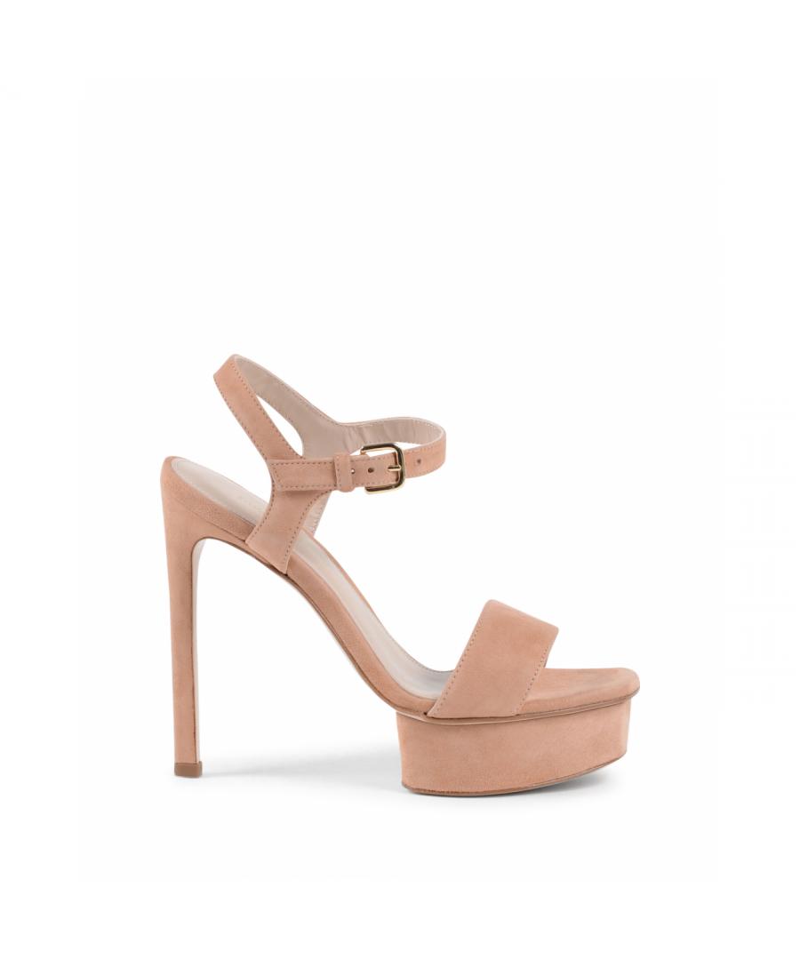 Image for Stuart Weitzman Womens Sandal Pink SINGLEPLAT