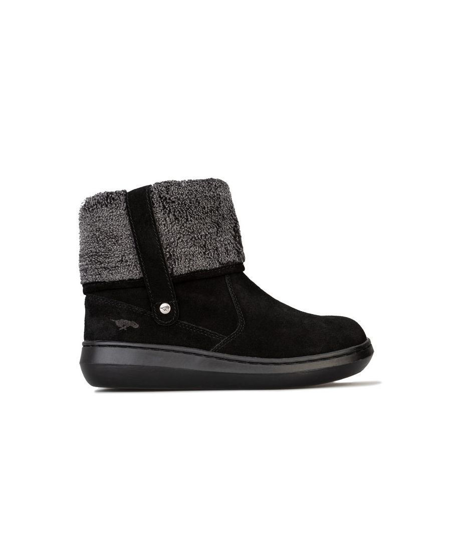 Image for Women's Rocket Dog Sugarmint Suede Boots - UK 3 - Blackin Black