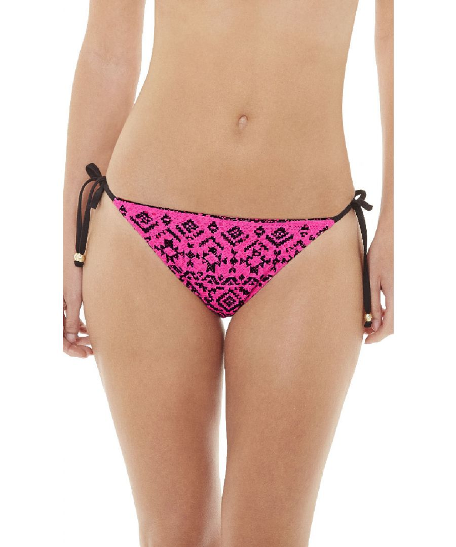 Image for Summer Days Triangle Bikini Top