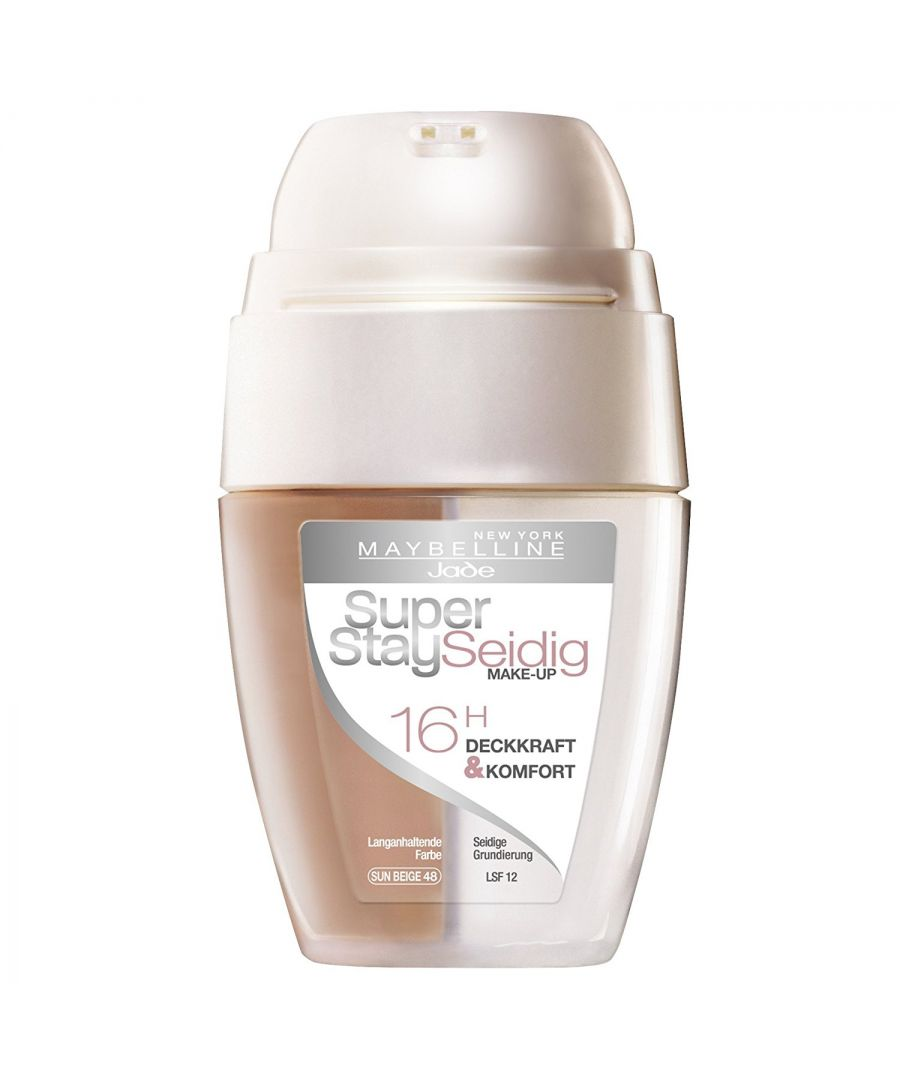 Image for Maybelline New York Super Stay Silky 16H Foundation - 48 Sun Beige