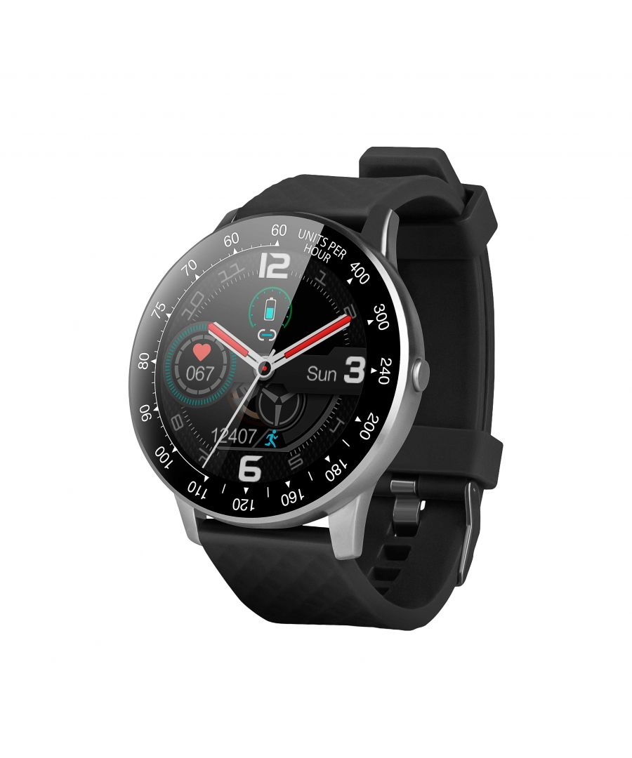 Image for Smartwatch Smartek SW-150 Pedometer Pulsometer Activity Black