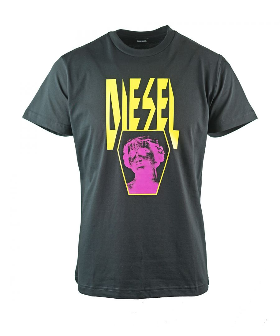 Image for Diesel T-Diego-YENEW Black T-Shirt