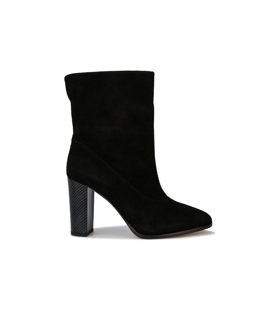 Image for Women's Karen Millen Sappho Shore Suede Boots in Black