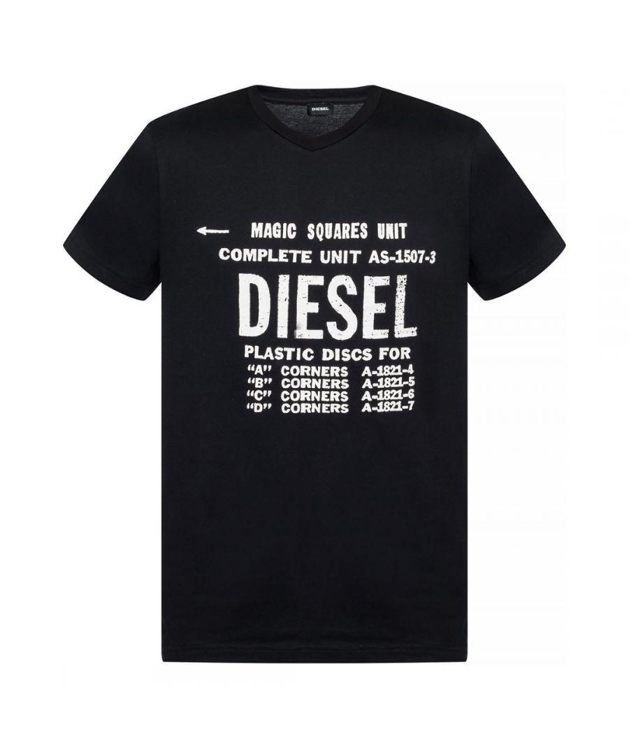 Image for Diesel T-Diego-B6 Black T-Shirt