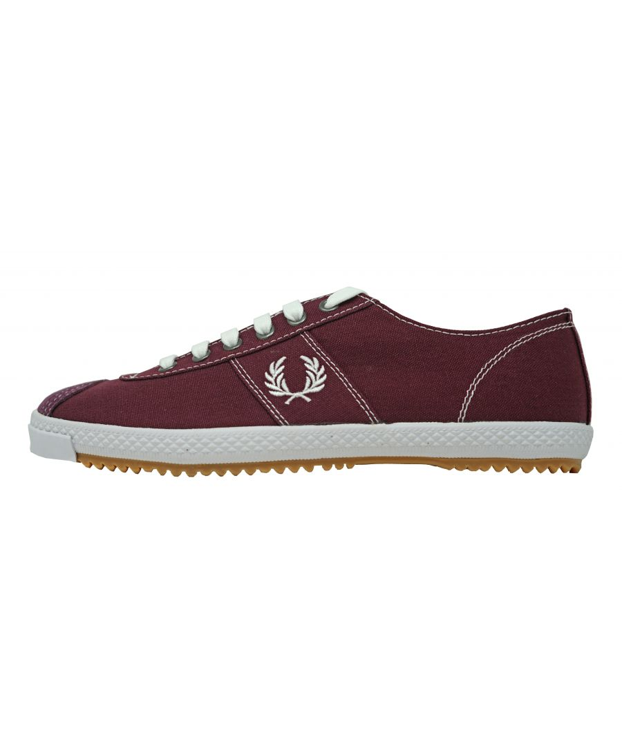 Image for Fred Perry B6309 799 Table Tennis Canvas Trainers