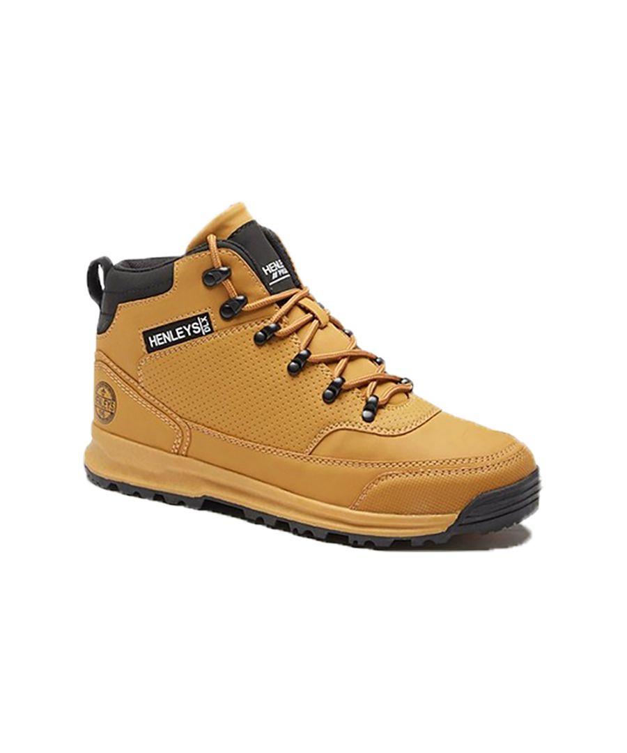 Image for Men's Henleys Paler Walking Boots, Tan