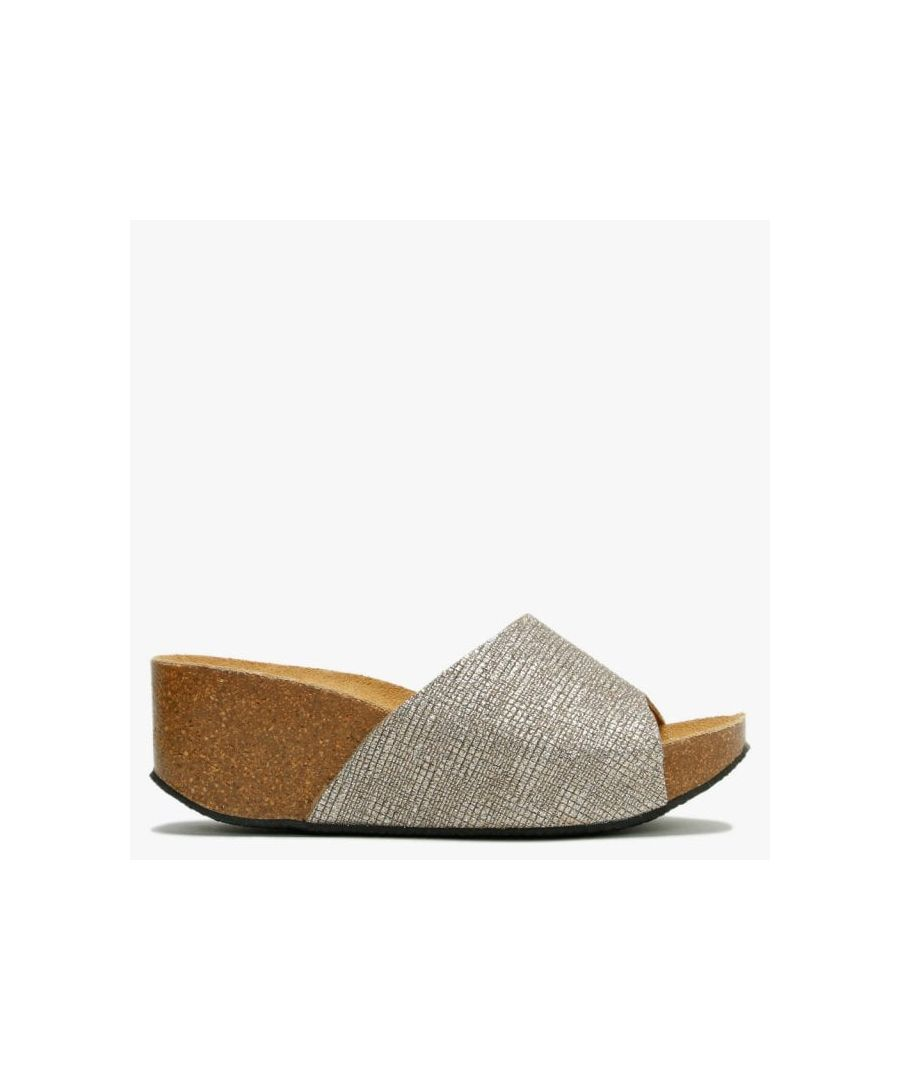 Image for DF By Daniel Tavernola Glitter Wedge Mules