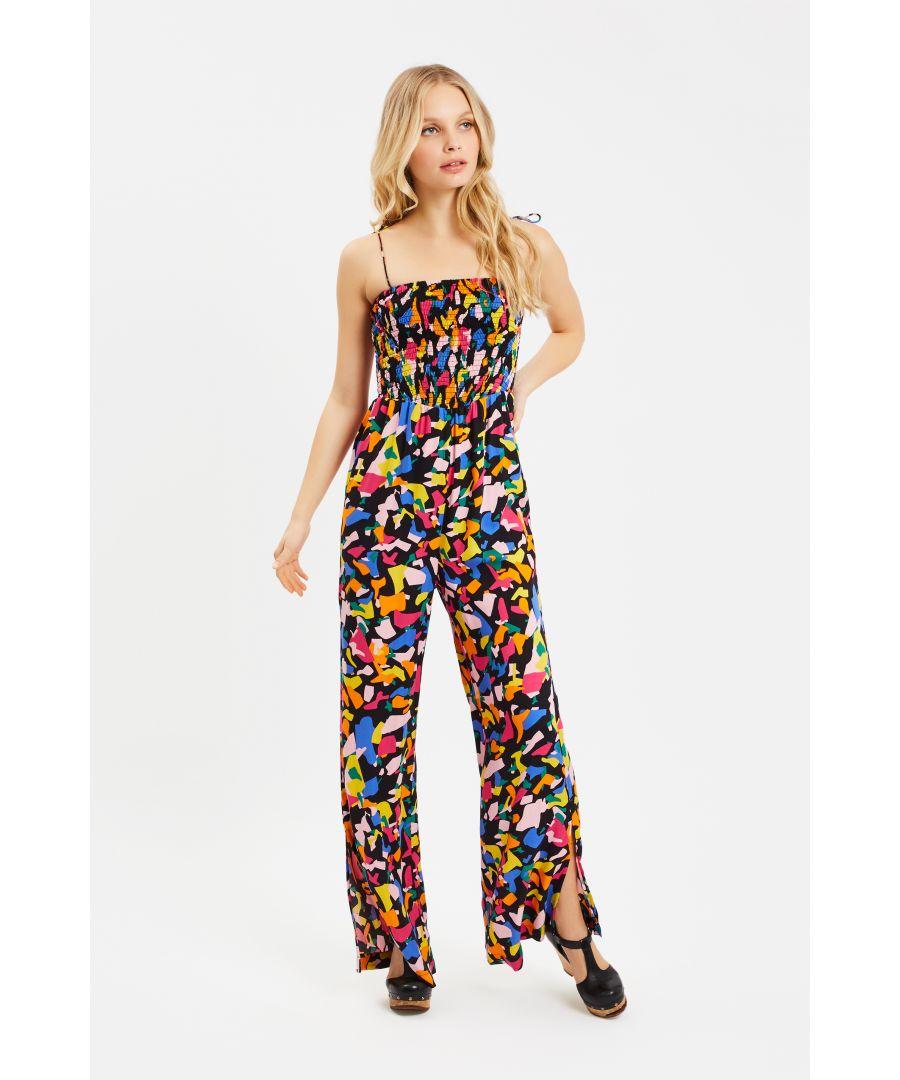 Image for Fallon Confetti Printed Jumpsuit in Multi