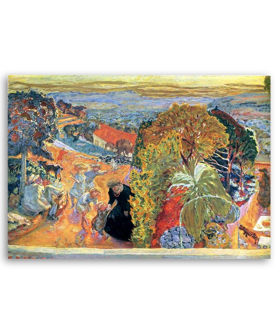 Image for Canvas Print - Té, La Danse - Pierre Bonnard Cm. 50x60