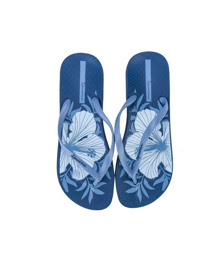 Image for Women's Ipanema Anatomic Temas Flip Flops in Blue