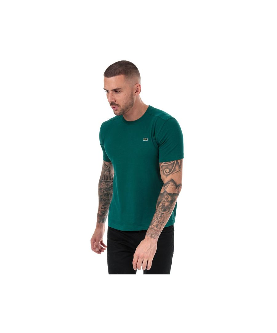 Image for Men's Lacoste Regular Fit T-Shirt in Green