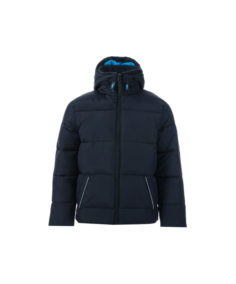 Image for Boy's Harvey and Jones Junior Thomas Padded Jacket in Navy