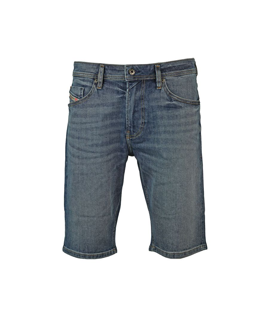Image for Diesel Thoshort Light Blue Denim Shorts