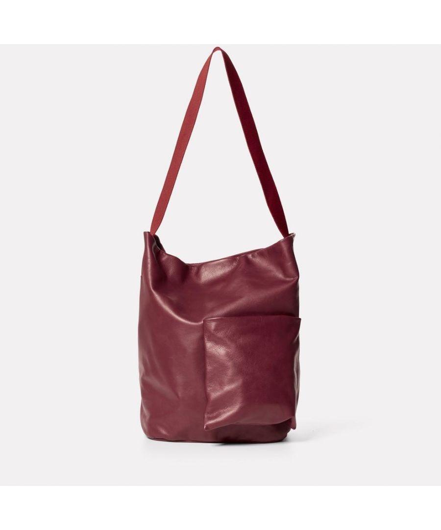 Image for Bobo Camlet Leather Shoulder Bag in Oxblood